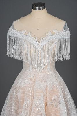 Luxury Brautkleider A Linie | Spitze Hochzeitskleider Günstig_6