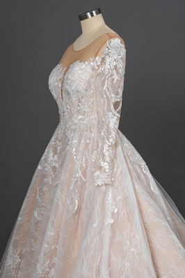 Extravagant wedding dresses with sleeves | Lace wedding dresses princess_10