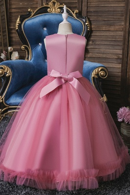 Pink Flower Girl Dresses Cheap | Flower children dresses online_7