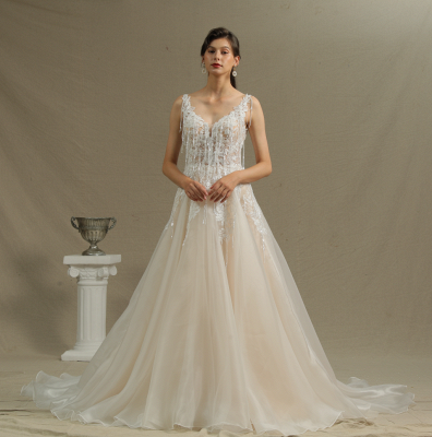Gorgeous Wedding Dresses With Lace | Wedding dress A line_2