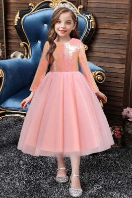 Flower Girl Dresses Pink Cheap | Children's dresses for flower girls