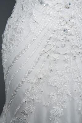 Designer Brautkleid Meerjungfrau Spitze | Hochzeitskleider Günstig Online_7