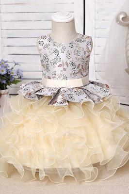 Purpur Kinder Kleider für Blumenmädchen | Blumenmädchenkleider Günstig_9