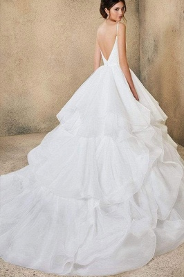 Designer Wedding Dresses Plain | Wedding dresses cheap online_8