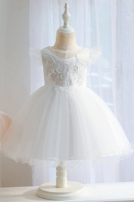 Pink Flower Girl Dresses Cheap | Children's wedding dresses online_1
