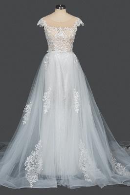 Elegant wedding dresses A line | Buy Glitter Wedding Dresses_13