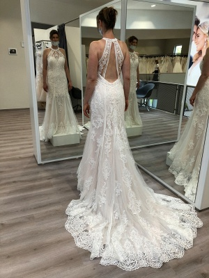 Beautiful mermaid wedding dresses | Wedding dresses with lace_2