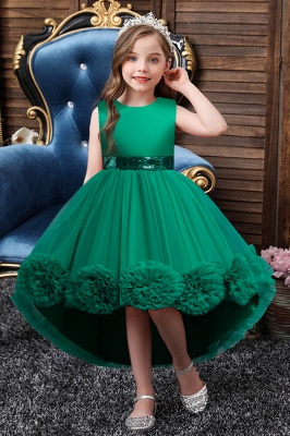 Green Flower Girl Dresses Cheap | Flower girl dresses_6