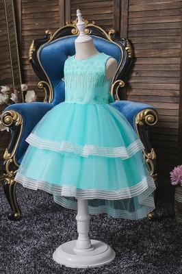 Mint flower girl dresses cheap | Children's wedding dresses_4