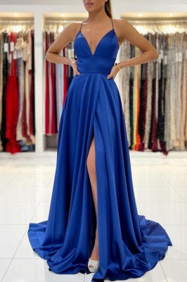 King Blue Evening Dresses Long | Prom dresses cheap