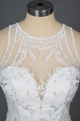 Designer Brautkleid Meerjungfrau Spitze | Hochzeitskleider Günstig Online_11