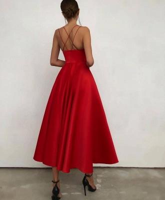 Rote Cocktailkleider Günstig | Abendkleider Abiballkleider Online_2