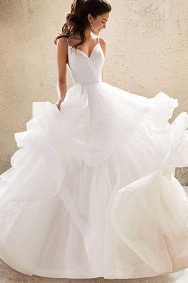 Designer Wedding Dresses Plain | Wedding dresses cheap online_7