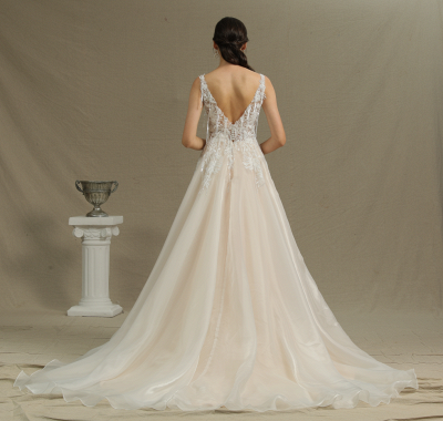 Gorgeous Wedding Dresses With Lace | Wedding dress A line_3