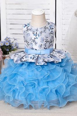 Purpur Kinder Kleider für Blumenmädchen | Blumenmädchenkleider Günstig_10