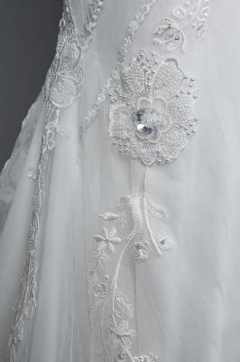 Designer Brautkleid Meerjungfrau Spitze | Hochzeitskleider Günstig Online_6