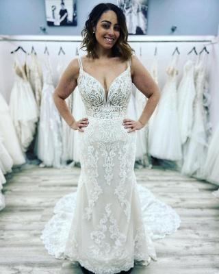 Designer Brautkleid Meerjungfrau Spitze | Hochzeitskleider Günstig_2