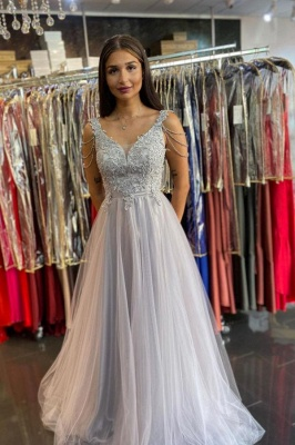 Cheap Späghetti Strap Long Prom Dresses Evening Gowns With Lace