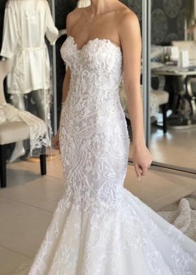 Luxury wedding dresses mermaid lace | Beautiful wedding dresses_4