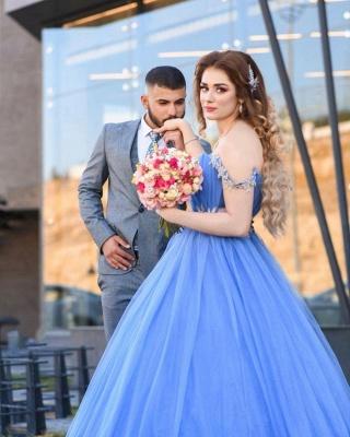 Blue Evening Dress Long Cheap | Evening wear online_3