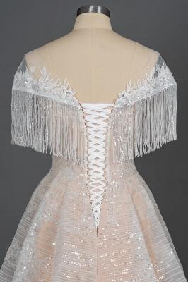 Luxury Brautkleider A Linie | Spitze Hochzeitskleider Günstig_7