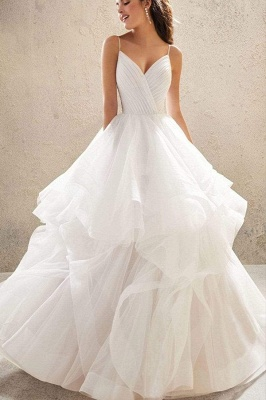 Designer Wedding Dresses Plain | Wedding dresses cheap online_9