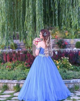 Blue Evening Dress Long Cheap | Evening wear online_5