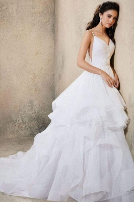 Designer Wedding Dresses Plain | Wedding dresses cheap online_2