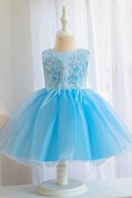 Wunderschöne Blumenmädchenkleider | Kinder Hochzeitskleider Günstig_4