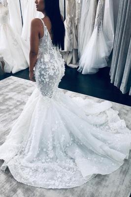 Designer Brautkleider Mit Spitze | Hochzeitskleid Meerjungfrau_2