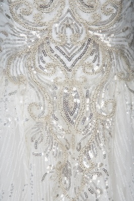 Extravagant wedding dresses glitter | Wedding dresses A line_6