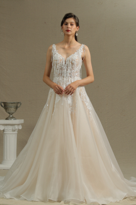 Gorgeous Wedding Dresses With Lace | Wedding dress A line_1