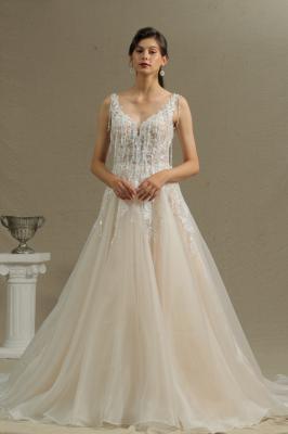 Wunderschöne Hochzeitskleider Mit Spitze | Brautkleid A Linie_1