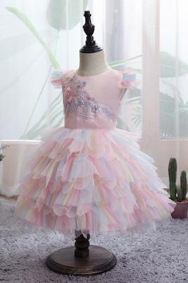 Yellow children's dresses for wedding | Flower girl dresses cheap_8