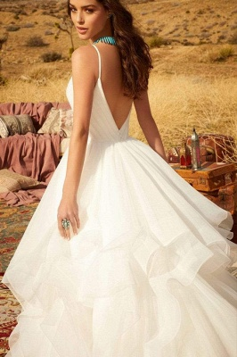 Designer Wedding Dresses Plain | Wedding dresses cheap online_4