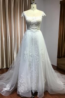 Elegant wedding dresses A line | Buy Glitter Wedding Dresses_1