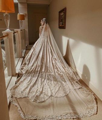 Extravagante Brautkleider Prinzessin | Hochzeitskleider Mit Ärmel_2
