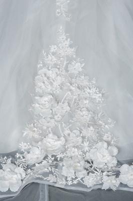 Gorgeous wedding dresses A line | Cheap tulle wedding dresses_4