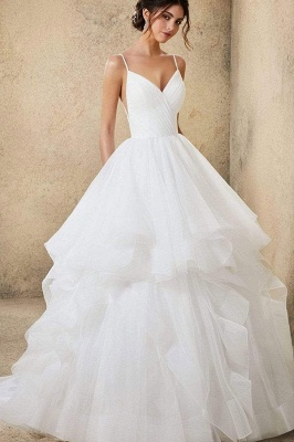 Designer Wedding Dresses Plain | Wedding dresses cheap online_6