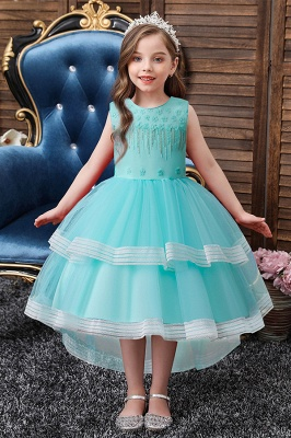 Mint flower girl dresses cheap | Children's wedding dresses