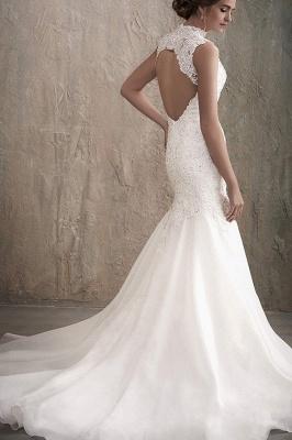 Elegante Brautkleider Meerjungfrau Spitze | Hochzeitskleider Online Kaufen_2