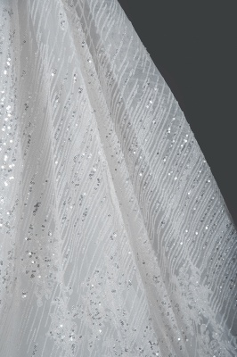 Extravagant wedding dresses glitter | Wedding dresses A line_7