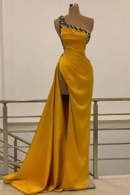 Long Gold Prom Dresses | Evening wear online_1