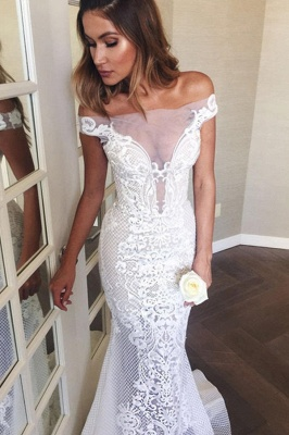 Mermaid lace wedding dress | Cheap Wedding Dresses Online