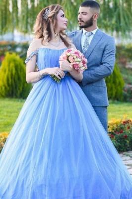 Blue Evening Dress Long Cheap | Evening wear online_1