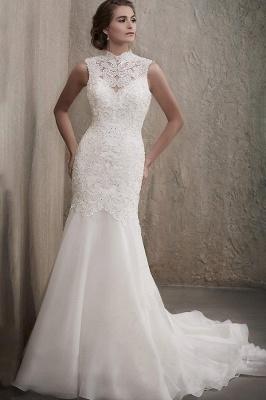 Elegante Brautkleider Meerjungfrau Spitze | Hochzeitskleider Online Kaufen_1