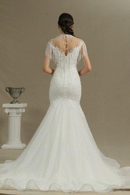 Wunderschöne Hochzeitskleider Meerjungfrau Spitze   Brautkleider Luxus_2