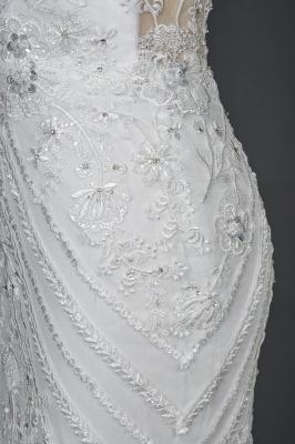 Designer Brautkleid Meerjungfrau Spitze | Hochzeitskleider Günstig Online_3