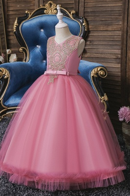 Pink Flower Girl Dresses Cheap | Flower children dresses online_8