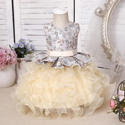 Purpur Kinder Kleider für Blumenmädchen | Blumenmädchenkleider Günstig_4
